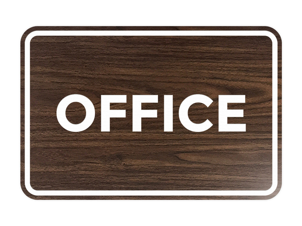 Signs ByLITA Classic Framed Office Sign