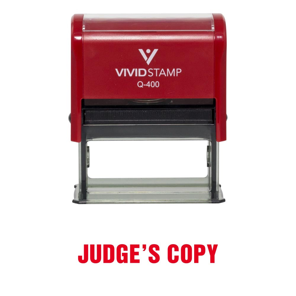 Judge's Copy Office Stamp