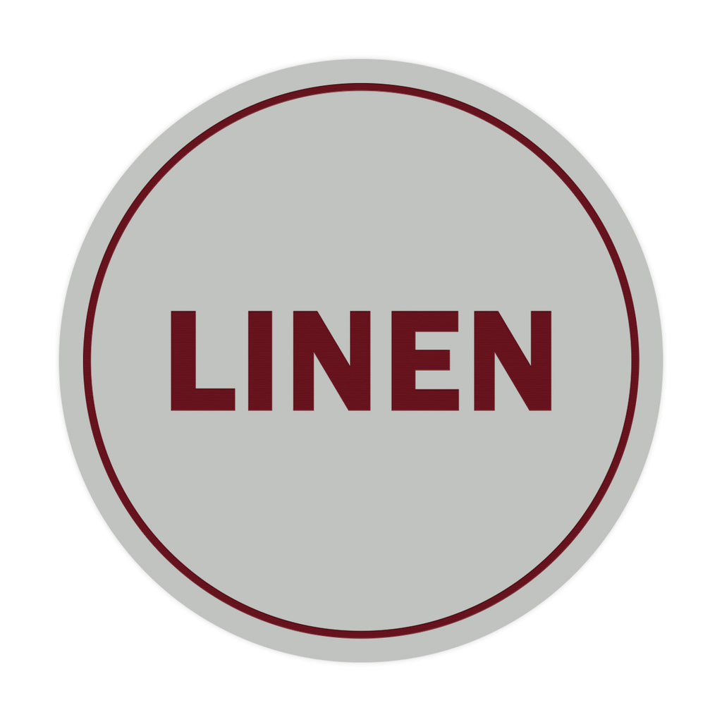 Signs ByLITA Circle Linen Sign