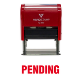 Pending Self Inking Rubber Stamp