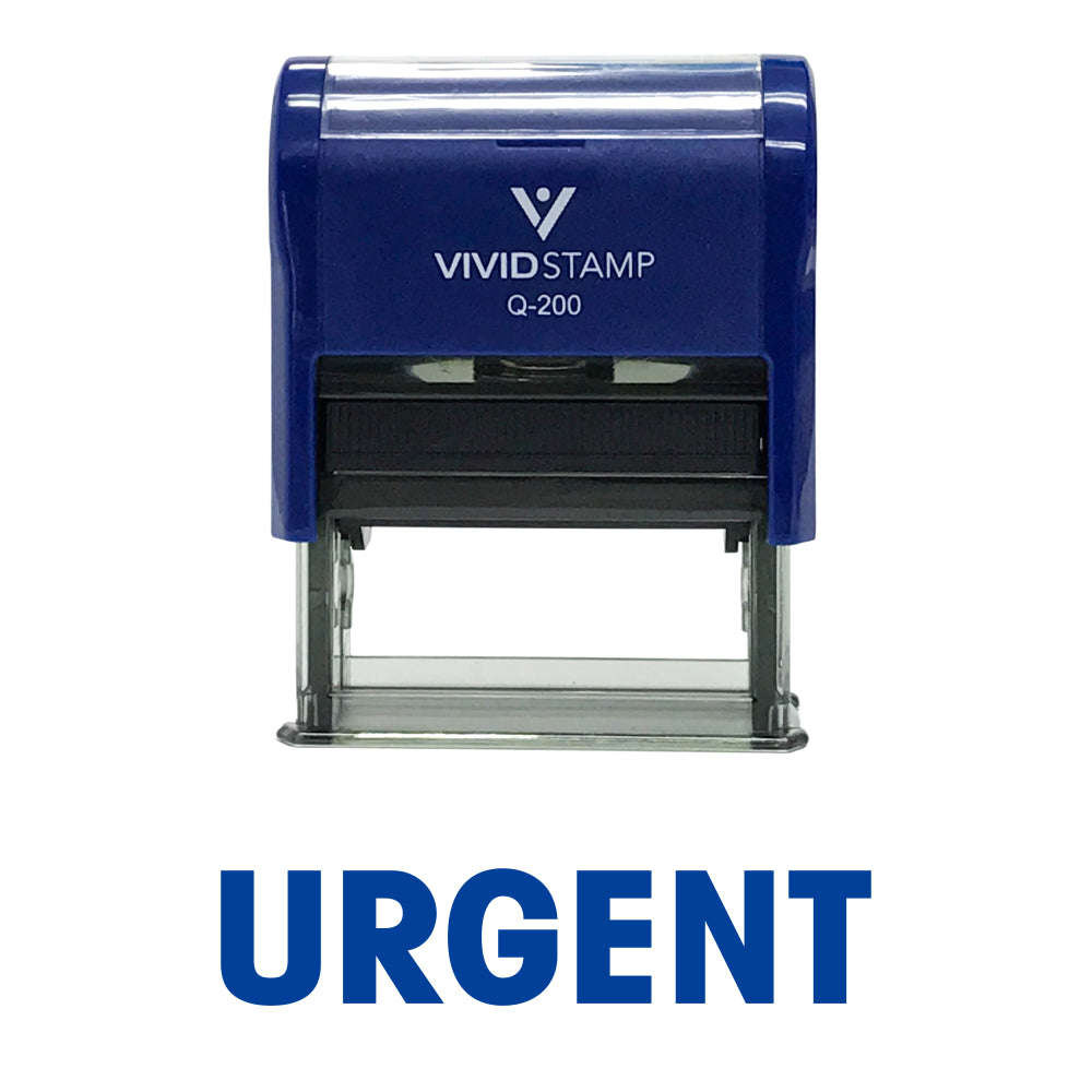 Basic Urgent Self Inking Rubber Stamp