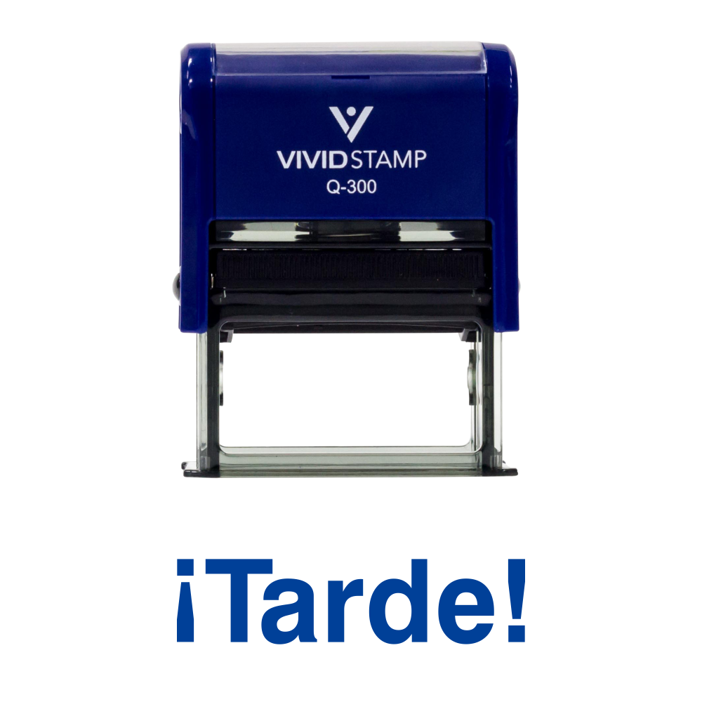 Tarde Spanish Teacher Self Inking Rubber Stamp