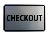 Signs ByLITA Classic Checkout Sign