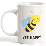 Bee Happy 11oz Coffee Mug