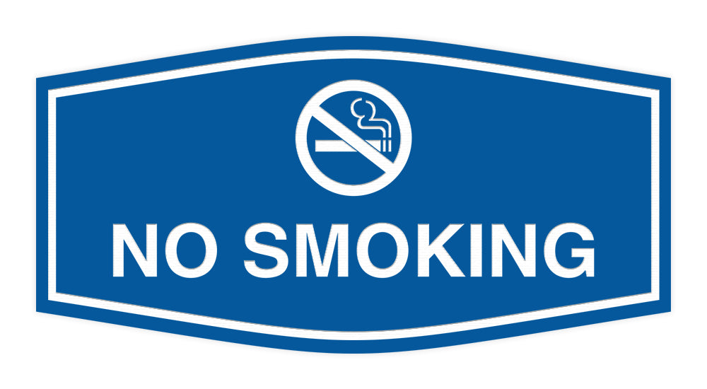 Signs ByLITA Fancy No Smoking Sign