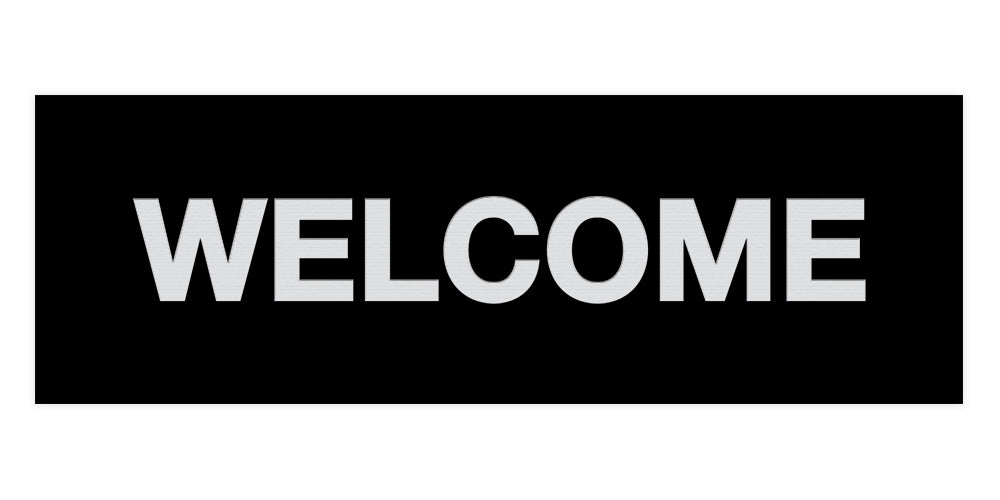 Signs ByLITA Basic Welcome Sign
