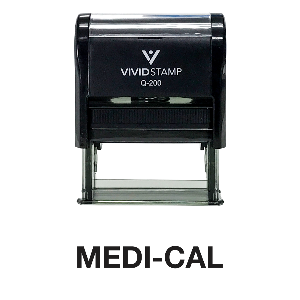 Medi-Cal Office Self Inking Rubber Stamp