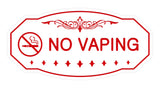 Victorian No Vaping Sign