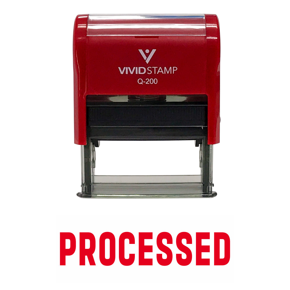 Processed Self Inking Rubber Stamp