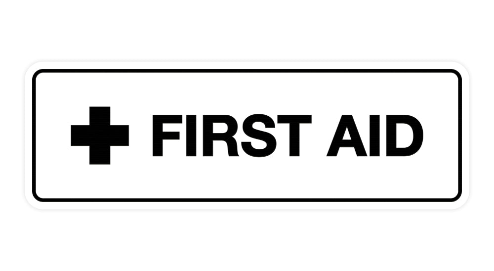 Signs ByLITA Standard First Aid Sign