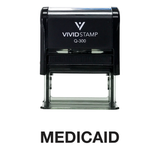 Medicaid Office Self Inking Rubber Stamp