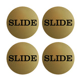 Slide Round Door Sign