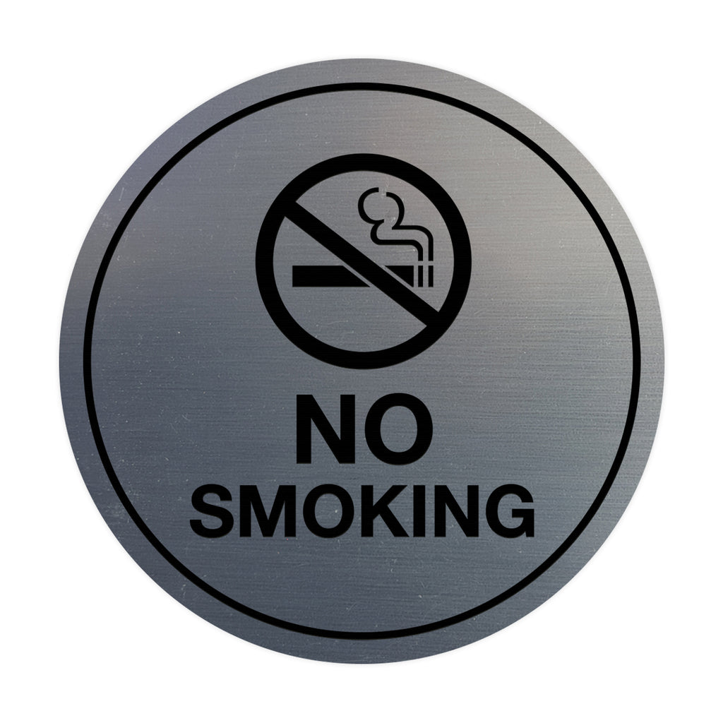 Signs ByLITA Circle No Smoking Sign