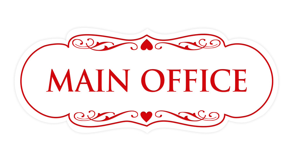 Designer Main Office Sign