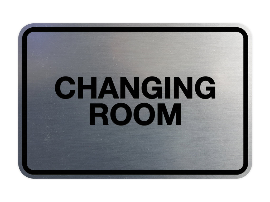 Signs ByLITA Classic Changing Room Sign