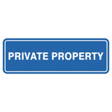 Standard Private Property Sign
