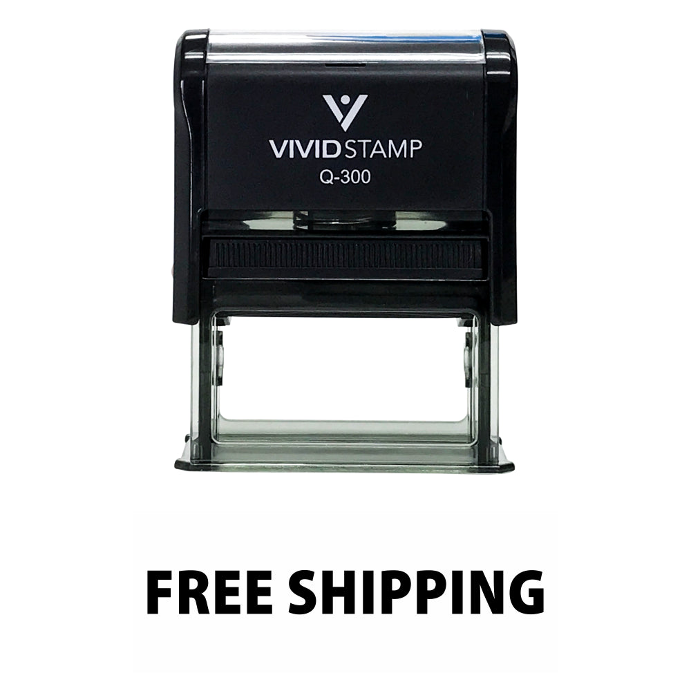 FREE SHIPPING Self Inking Rubber Stamp