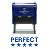 PERFECT (5 Stars) Teacher Self Inking Rubber Stamp