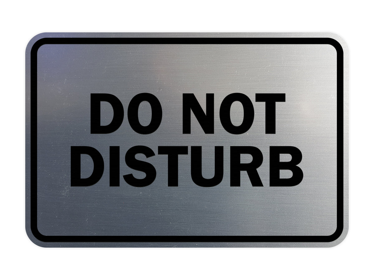 Signs ByLITA Classic Do Not Disturb Sign