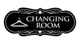 Signs ByLITA Designer Changing Room Sign with Adhesive Tape, Mounts On Any Surface, Weather Resistant, Indoor/Outdoor Use