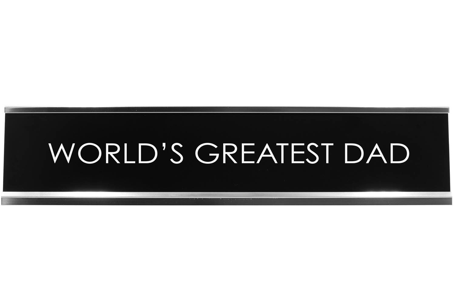 Signs ByLITA WORLD'S GREATEST DAD Novelty Desk Sign