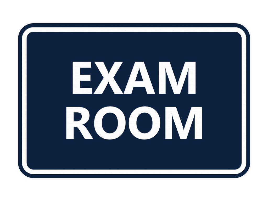 Signs ByLITA Classic Exam Room Sign