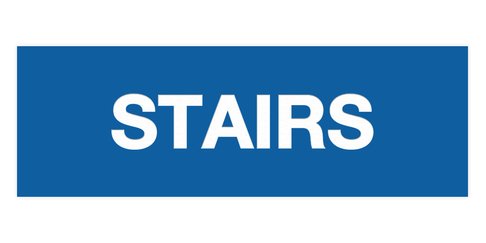 Signs ByLITA Basic Stairs Sign