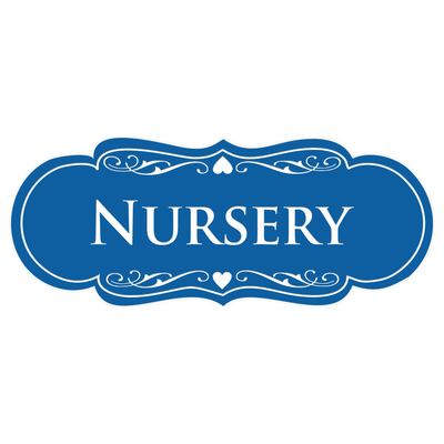 Designer NURSERY Sign