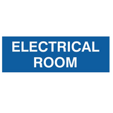 Basic ELECTRICAL ROOM Door / Wall Sign