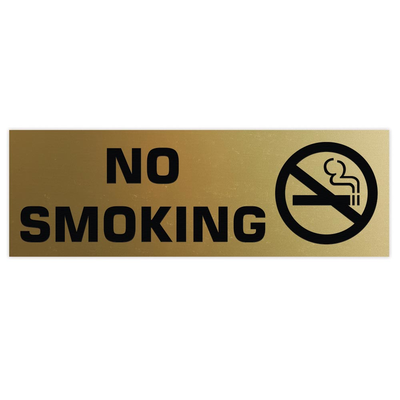 Basic NO SMOKING Sign