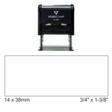 Vivid Self-Inking Custom Address Rubber Stamp - (Max 4 Lines) (Large)