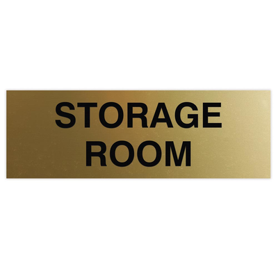 Basic STORAGE ROOM Sign
