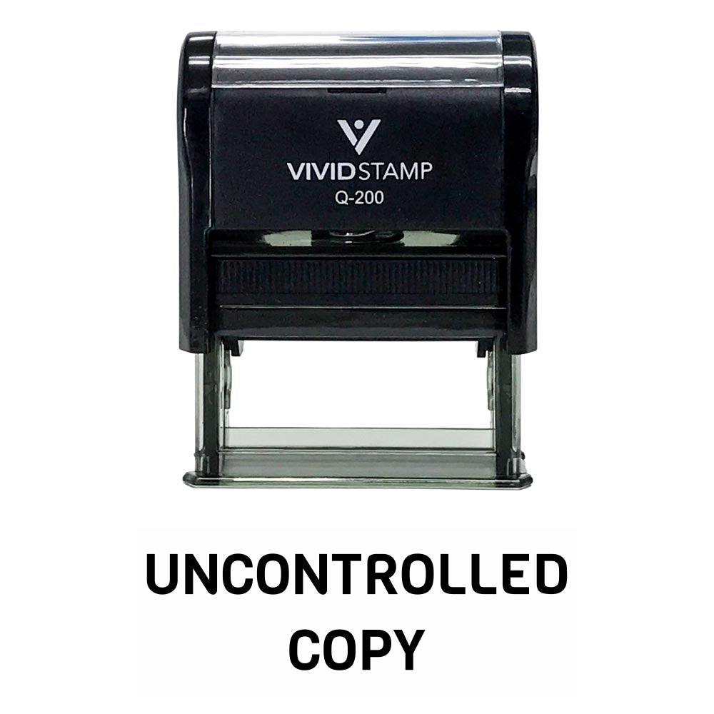 UNCONTROLLED COPY Stamp