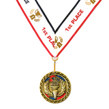 1st Place Victory Gold Medal Award - Includes Ribbon