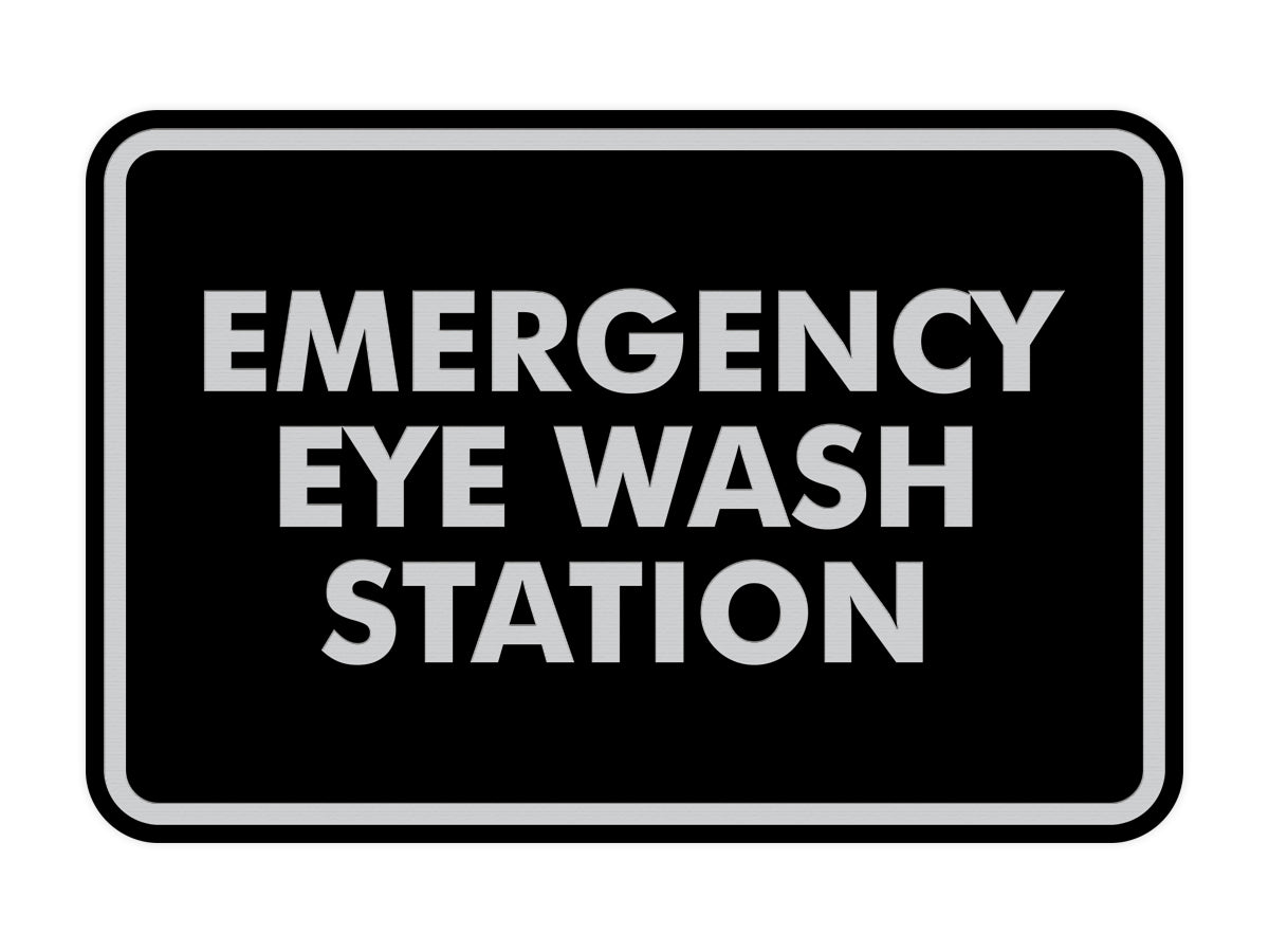 Signs ByLITA Classic Emergency Eye Wash Station Sign