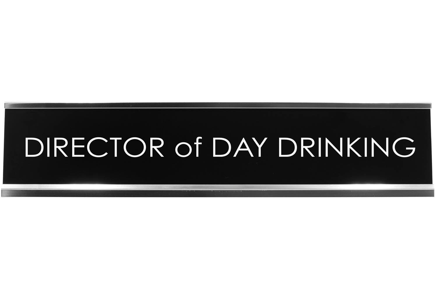 Signs ByLITA DIRECTOR OF DAY DRINKING Novelty Desk Sign