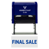 Basic FINAL SALE Self-Inking Office Rubber Stamp
