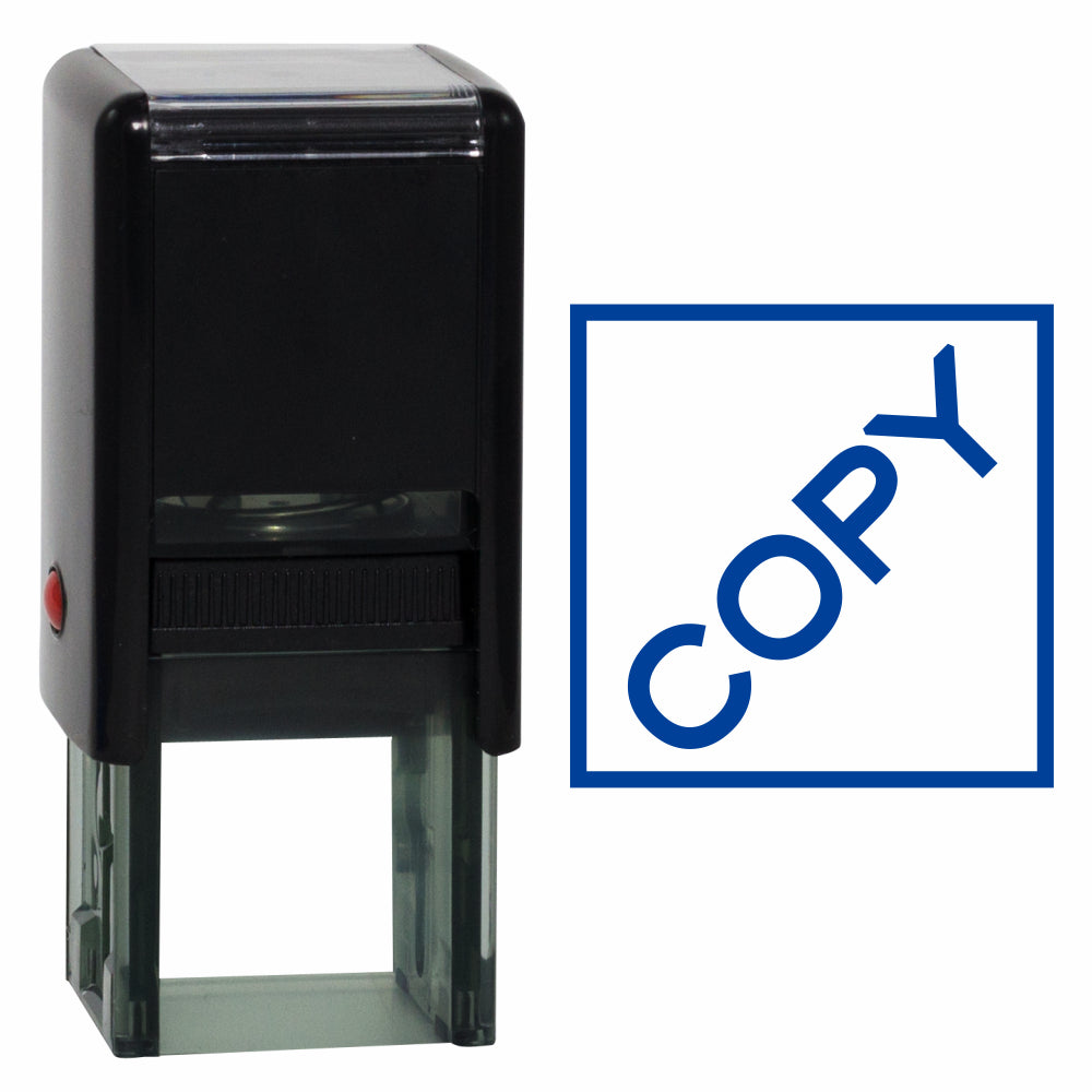Square COPY Self Inking Rubber Stamp