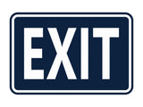 Signs ByLITA Classic Framed Exit Sign