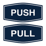 Signs ByLITA Fancy Push Pull Sign Set