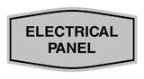Signs ByLITA Fancy Electrical Panel Sign