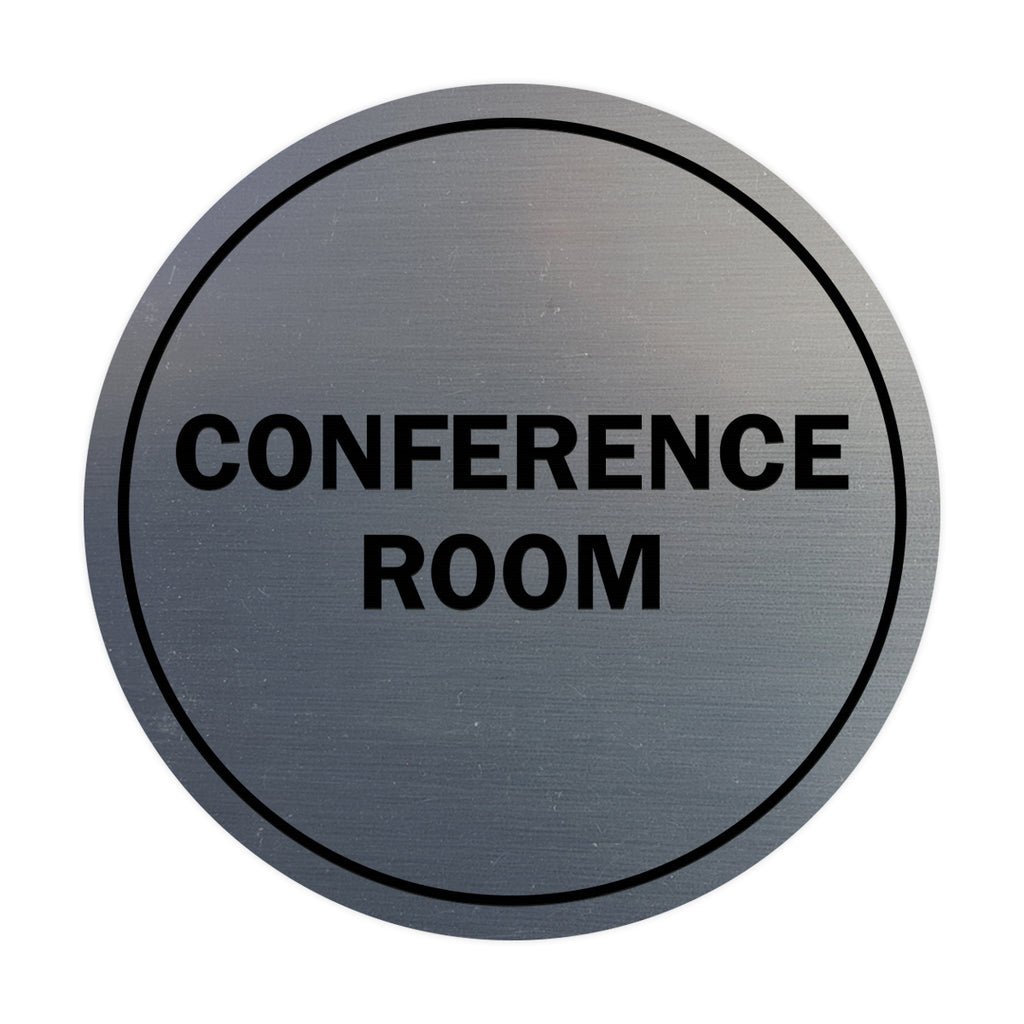 Signs ByLITA Circle Conference Room Sign