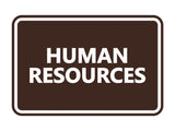 Signs ByLITA Classic Human Resources Sign