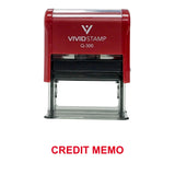 Credit Memo Office Stamp