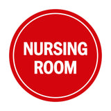 Signs ByLITA Circle Nursing Room Sign