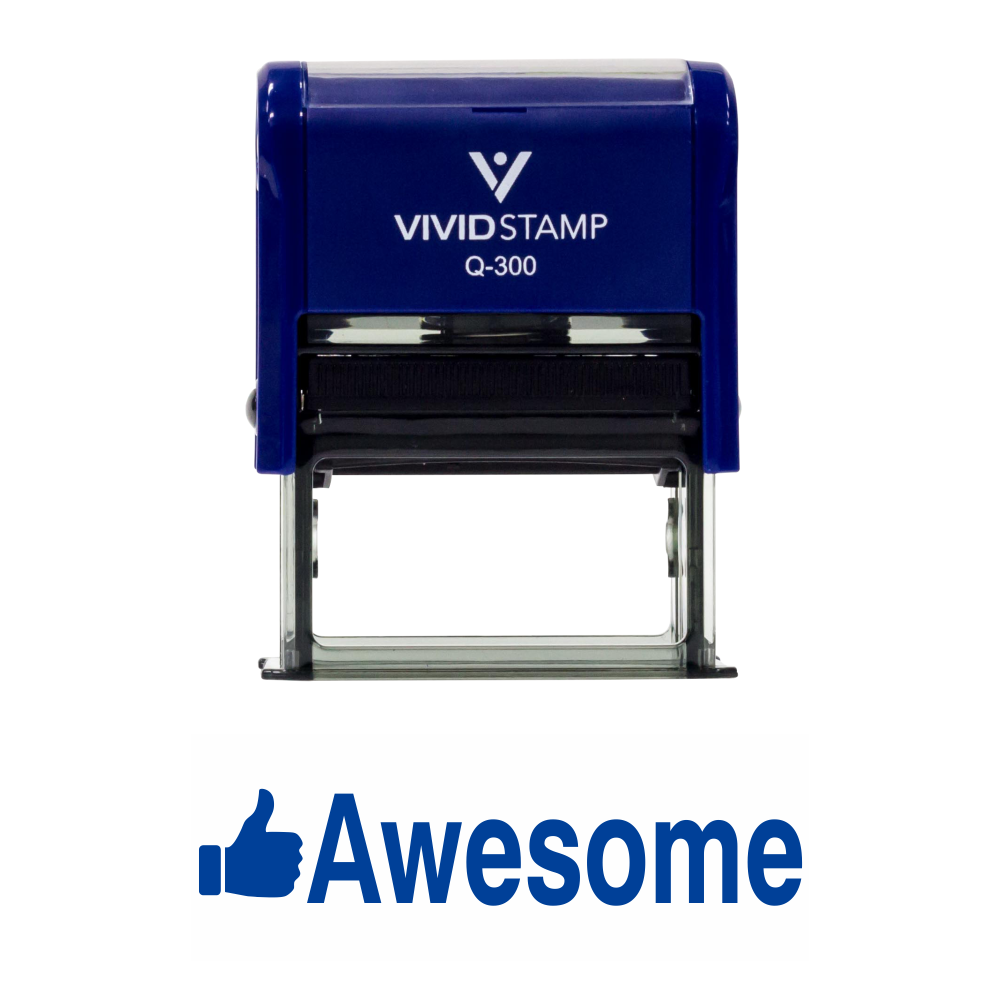 AWESOME Teacher Self Inking Rubber Stamp