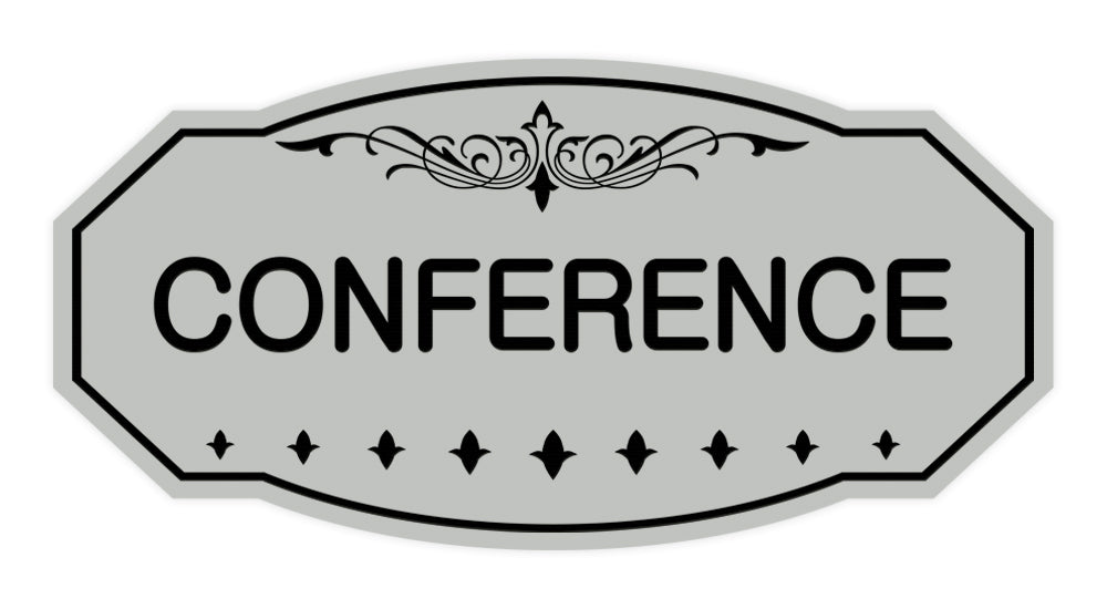 Victorian Conference Sign