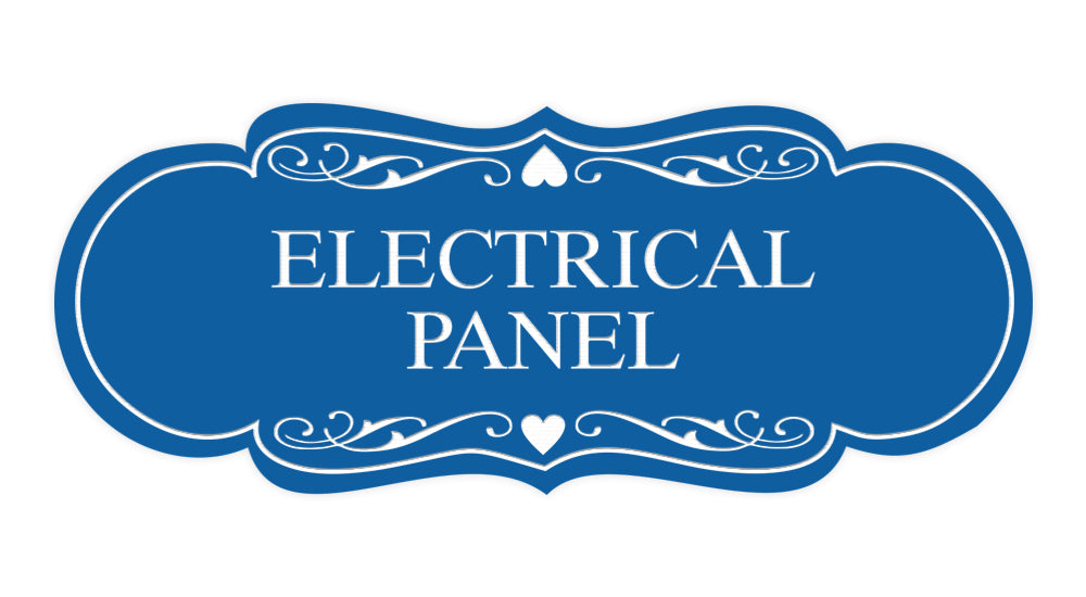 Signs ByLITA Designer Electrical Panel Sign