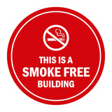 Signs ByLITA Circle This is a smoke free building Sign