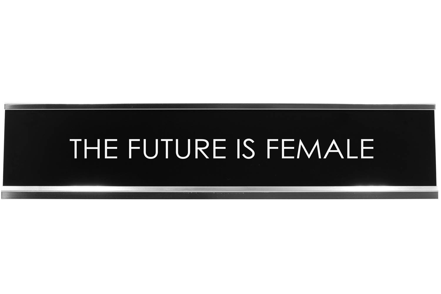Signs ByLITA THE FUTURE IS FEMALE Novelty Desk Sign